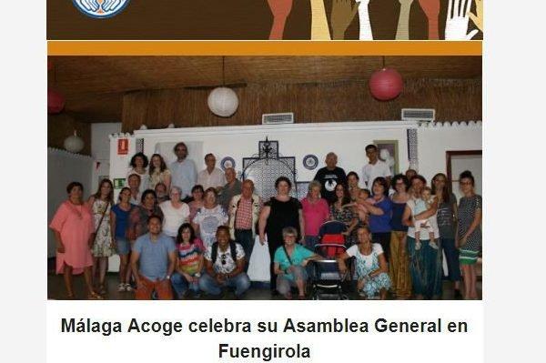 Las noticias de junio de Málaga Acoge