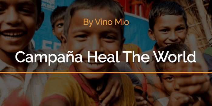 Vino Mío y «Heal the world», con Málaga Acoge