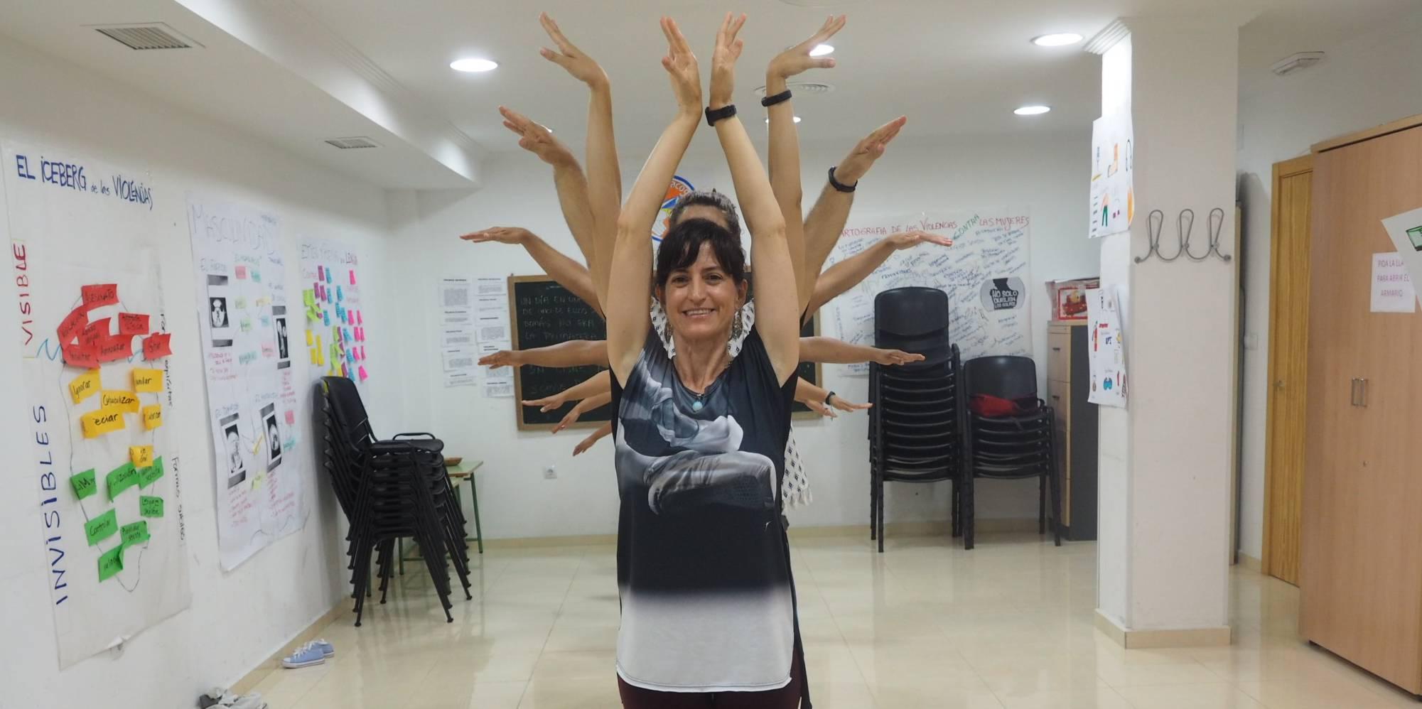 Danza y emoción para nuestras familias refugiadas