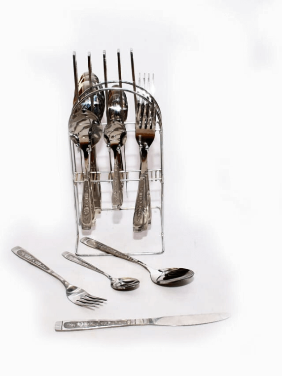 24 pc Stainless steel Spoon Set