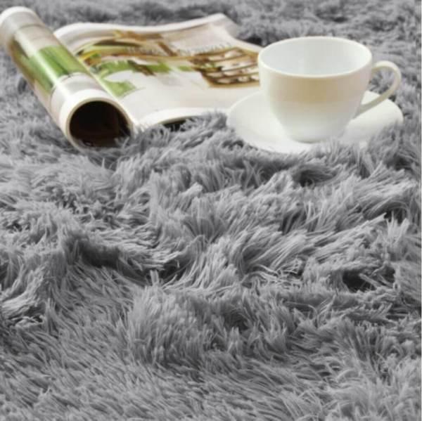 Smooth Fur Rug Fluffy Carpet