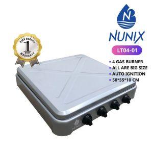 Nunix 4 Gas Burner Table Top
