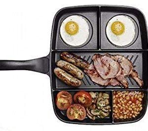 5 in 1 Magic Pan/Frying Pan/Non-Stick/Extra-Large.