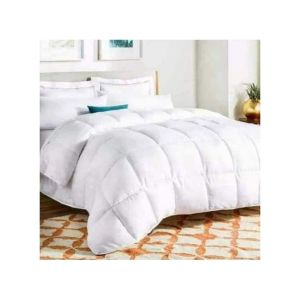 Plain White Woolen Duvet