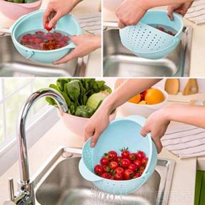 Rice/Fruits Washer and Rinser Bowl