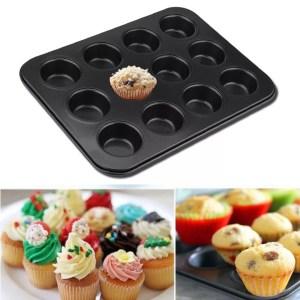 Non-Stick 12-Hole cupcake Tin/Tray
