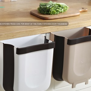Collapsible Expandable dustbin over the shelf