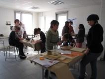 Atelier de fabrication de jeux du monde avec Peuple & Culture