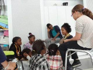 Lecture à la Maison des haubans pour les 10 ans de Macaiba le 7 mai dernier... (photo Atelier du 14)
