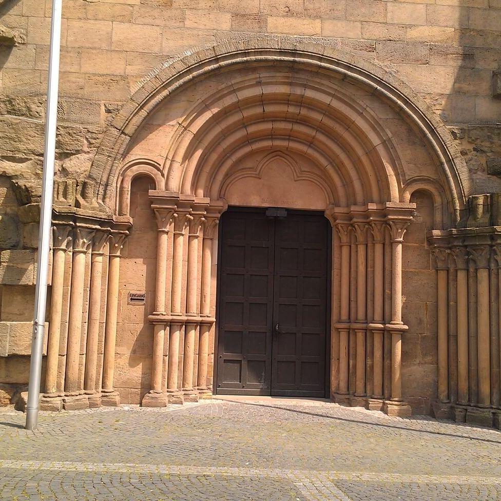 Arquitectura románica. Entrada