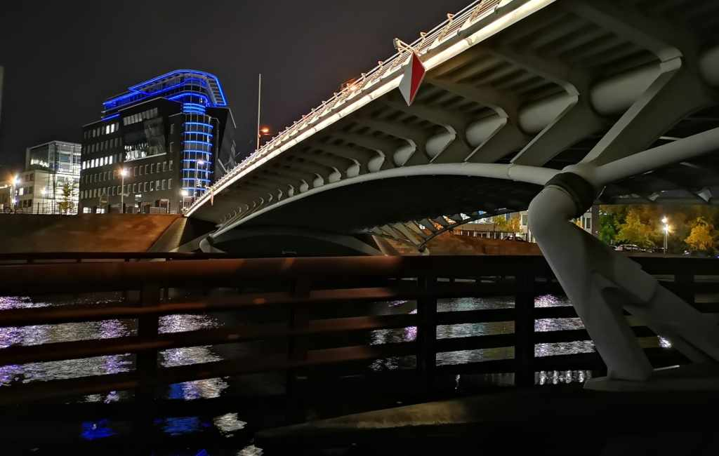 Calatrava en Berlín: Kronprinzenbrücke