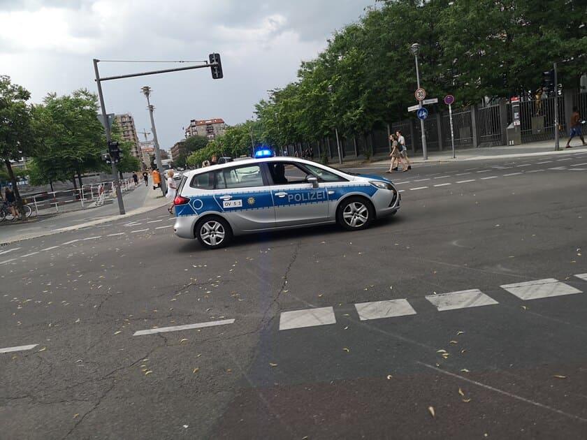 Policía Berlín - tráfico