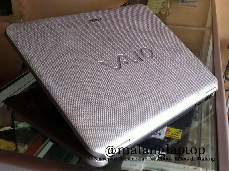 jual laptop bekas sony vaio vgn-ns110e