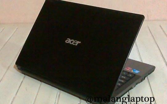 Laptop Bekas Gaming Acer 4820G