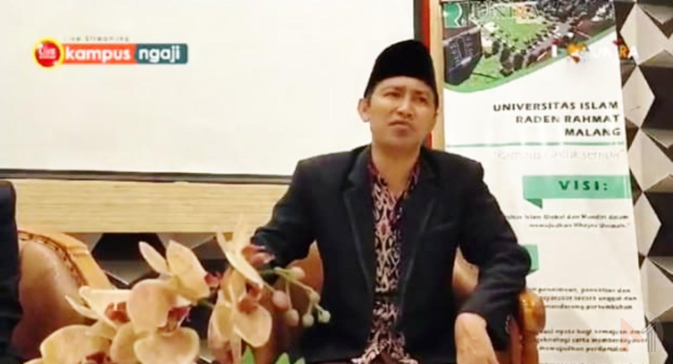 Foto : Kampus Ngaji, KH Fadil Khosin ketua LBM NU kab Malang