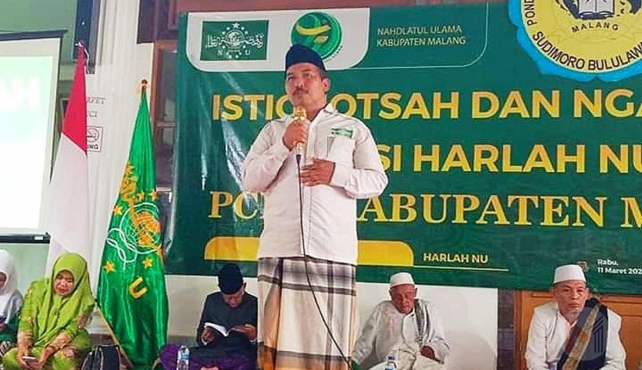 Foto : Ketua PCNU Kab Malang, dr Umar Usman