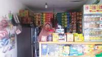 Foto : Hj. Sofikyah, pemilik toko yang jadi korban pencurian