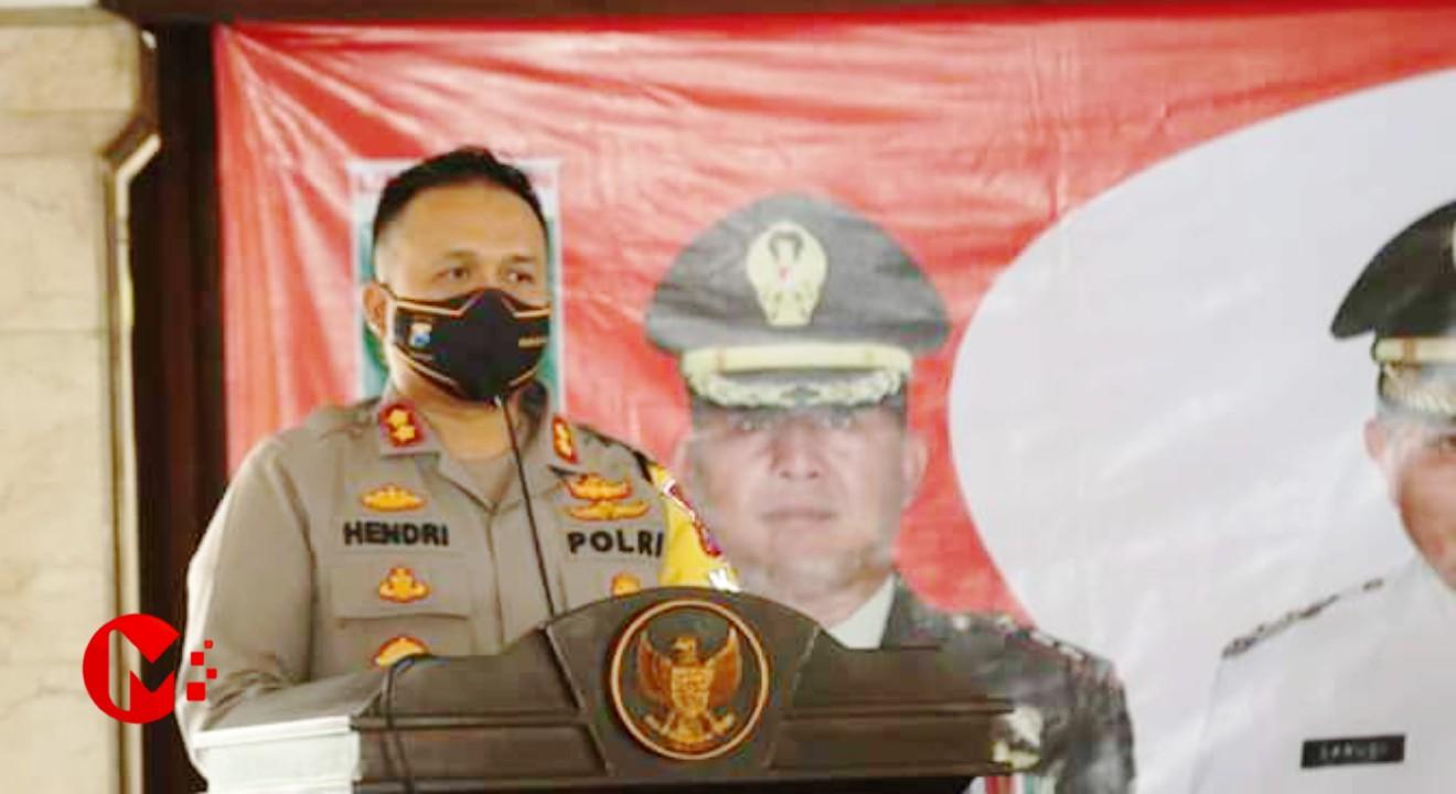 Foto : Wakil Komandan Satgas New Normal, Kapolres Malang AKBP Hendri Umar
