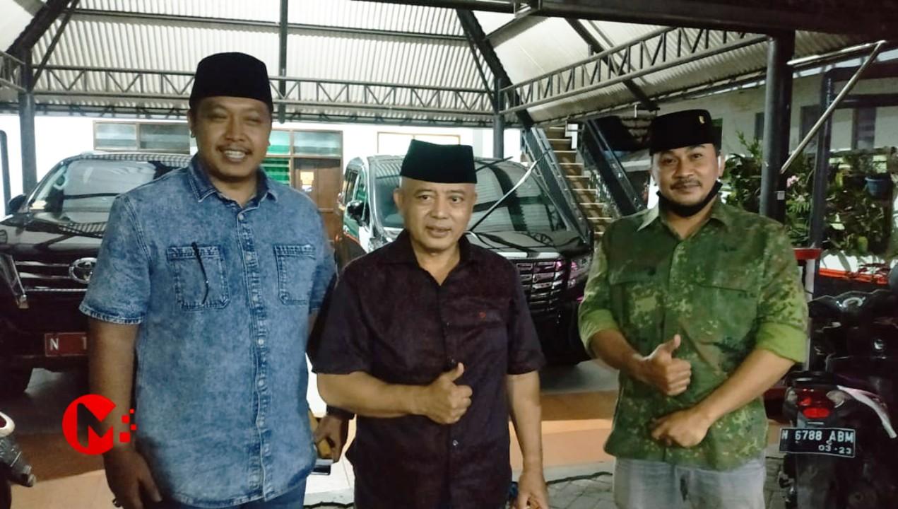 Foto : Ketua Gerindra Kab Malang (kiri) bersama HM Sanusi, Bupati Malang