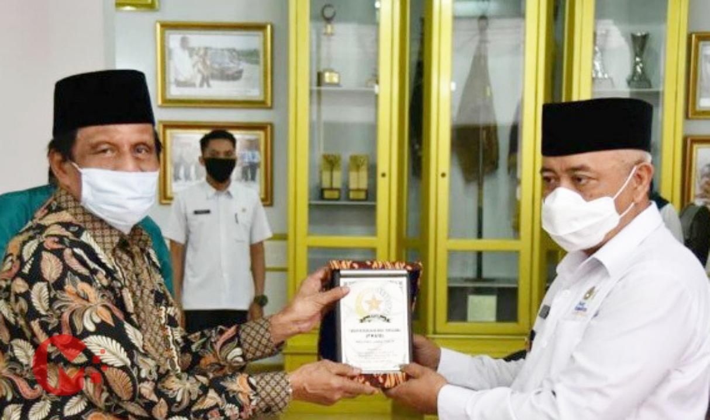 Foto : Bupati Malang, HM Sanusi terima kunjungan FKUB Jawa Timur