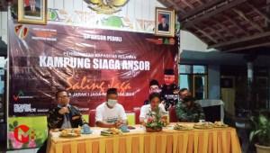 Foto : Launching Kampung Siaga Ansor di Balai desa Sengguruh Kepanjen