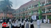 Foto : Upacara HSN di Unira Malang