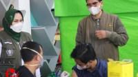 Foto : Pelaksanaan vaksin di unira malang