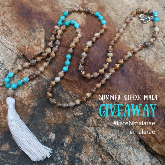 Summer Breeze Mala Giveaway!