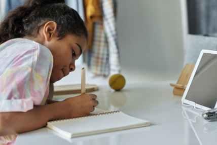 child, tutoring, online