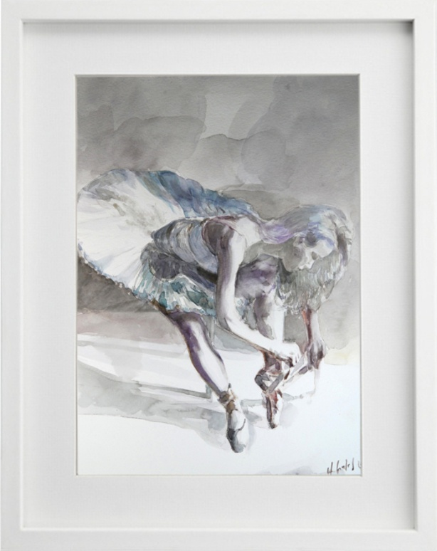 Siedząca baletnica 030216