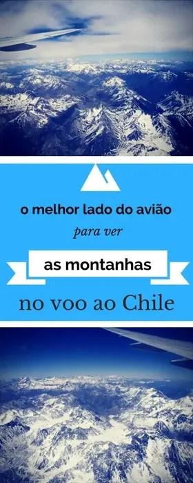 Qual o melhor lado do avião para ver as cordilheiras no voo para o Chile? | Malas e Panelas