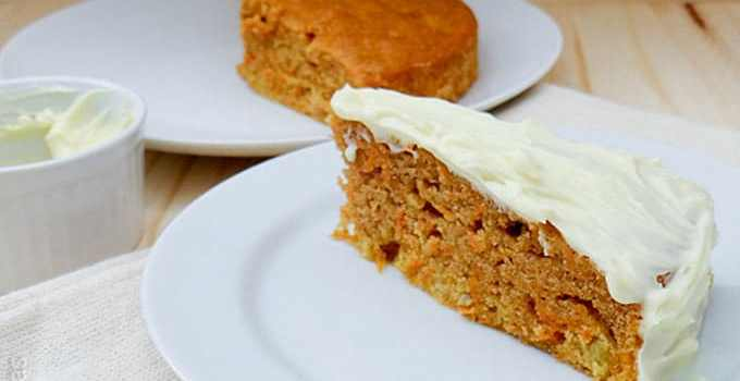 Carrot Cake – bolo de cenoura americano