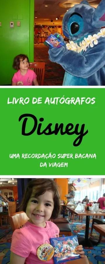 Livro de Autógrafos Disney | Malas e Panelas