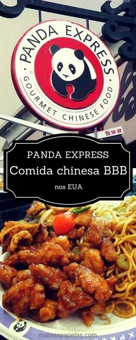 Panda Express - Comida chinesa BBB nos EUA