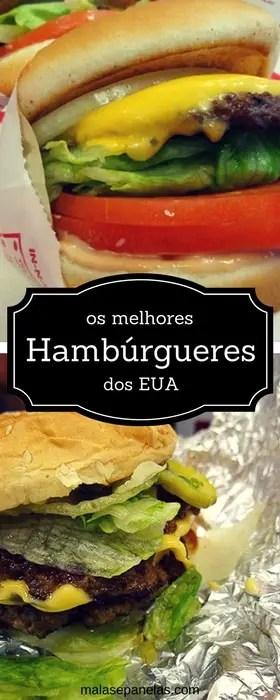 os melhores hambúrgueres dos EUA | Malas e Panelas