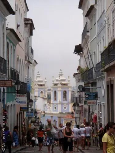 Passeio a pé quando o navio atraca em Salvador - Largo Pelourinho