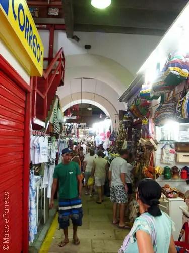Passeio a pé quando o navio atraca em Salvador - Mercado Modelo