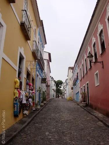 Passeio a pé quando o navio atraca em Salvador - Ladeiras Pelourinho