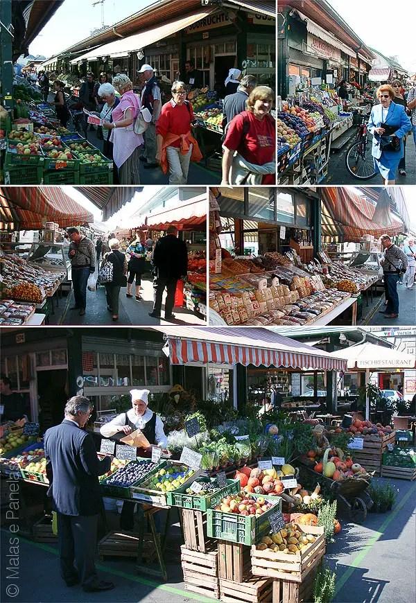 Naschmarkt - Viena