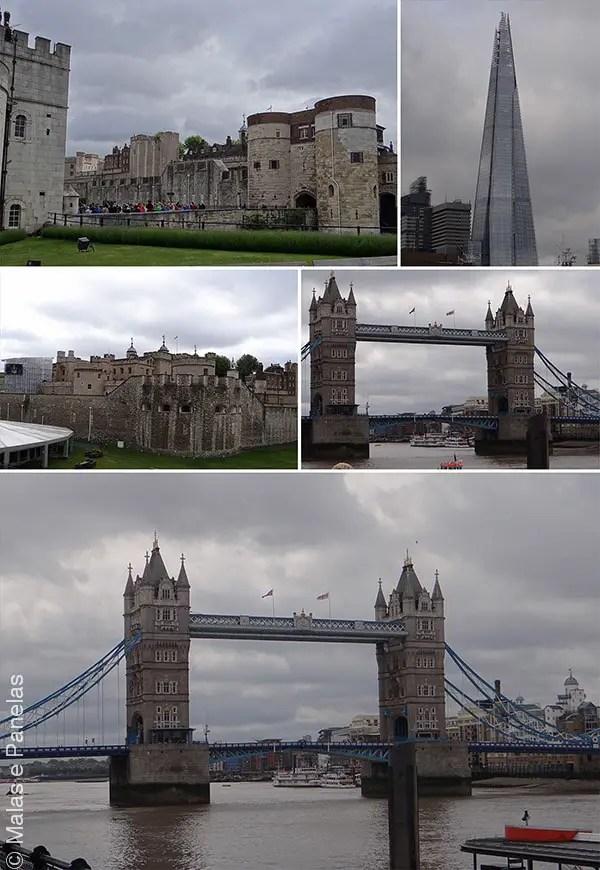 Tower of London e Tower Bridge