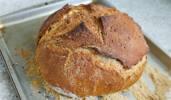 Pão de Centeio estilo NY Deli