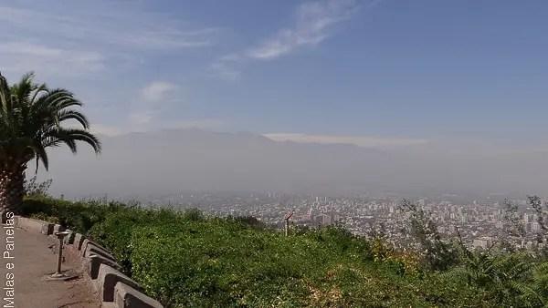 5 passeios em Santiago
