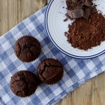 Receita: Double Chocolate Muffins