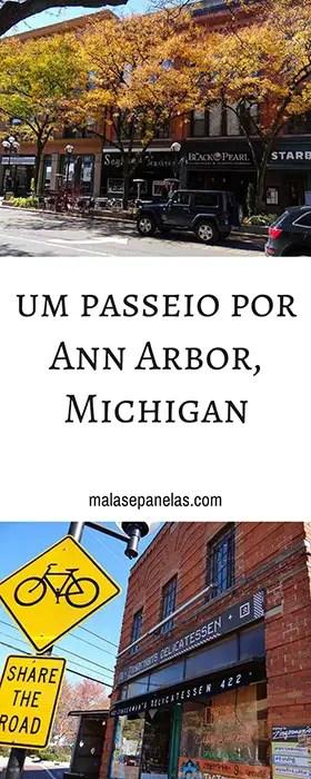 Um passeio por Ann Arbor, Michigan | Malas e Panelas