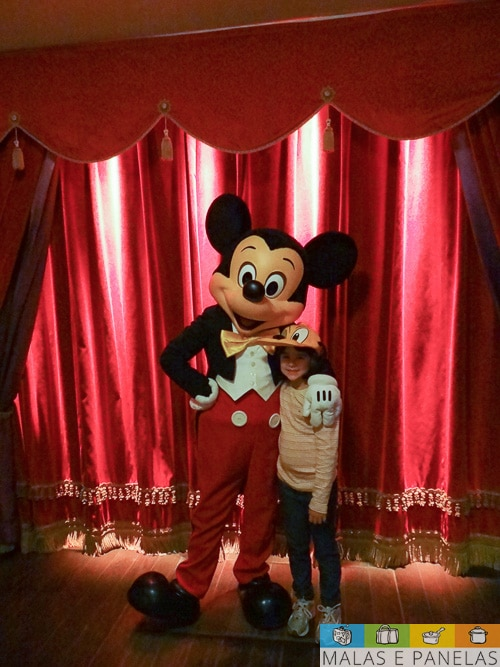 Mickey e Isabella