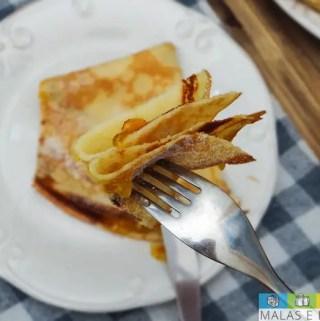Crepe com Manteiga e Açúcar ou Crêpe Beurre Sucre