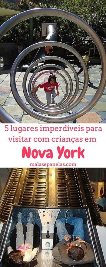 5 lugares imperdíveis para visitar com crianças em Nova York | Malas e Panelas