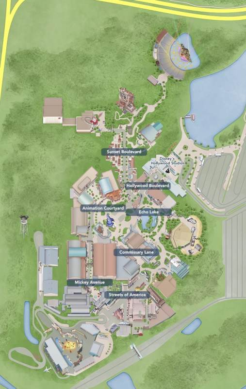 Fonte https://disneyworld.disney.go.com/maps/