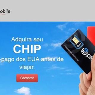 Chip pré-pago de telefone nos EUA – Travel Mobile