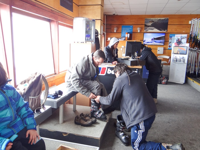aluguel equipamento de ski valle nevado